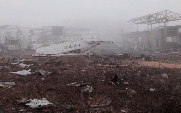 One cyborg was killed in Donetsk airport on Friday