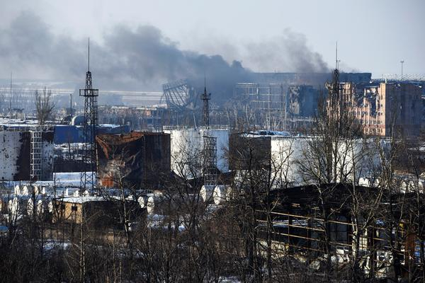 Headquarters ATO reported that the battle in Donetsk airport lasted the whole day and still continues