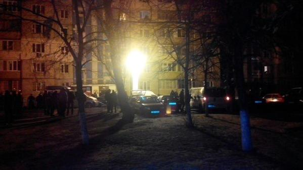 Small bomb exploded in residential area of Kyiv tonight. Some cars damaged