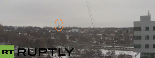 Artillery joinging in from near RT position, smoke rising from the terminals now