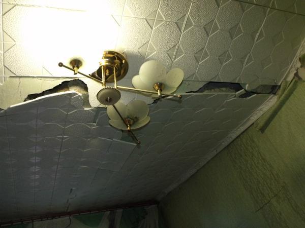 Dokuchayevsk, 5-storey house near the bus station was hit