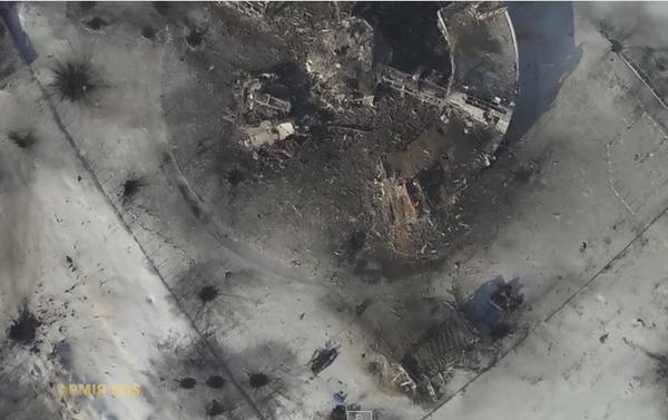 Confront continues In Donetsk airport. The militants have asked to stop the fight
