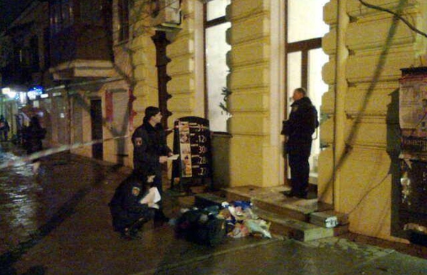 In Odessa, on the corner of Alexander Avenue and Zhukovsky street sappers exploded a suspicious package