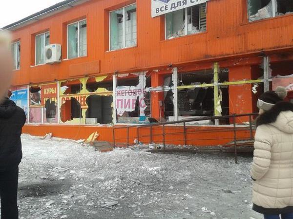 Kegs of beer. Destruction in Popasnaya