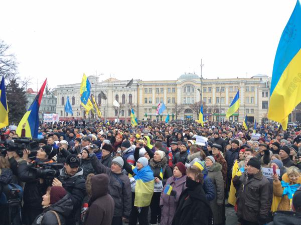Peace March in Kharkiv