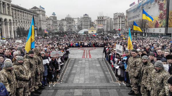 The Maidan. The March of the Peace