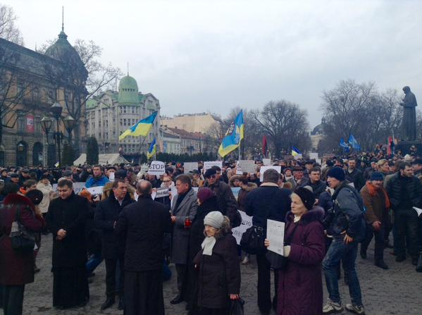 In Lviv began a March of solidarity Je Sui Bolnovakha