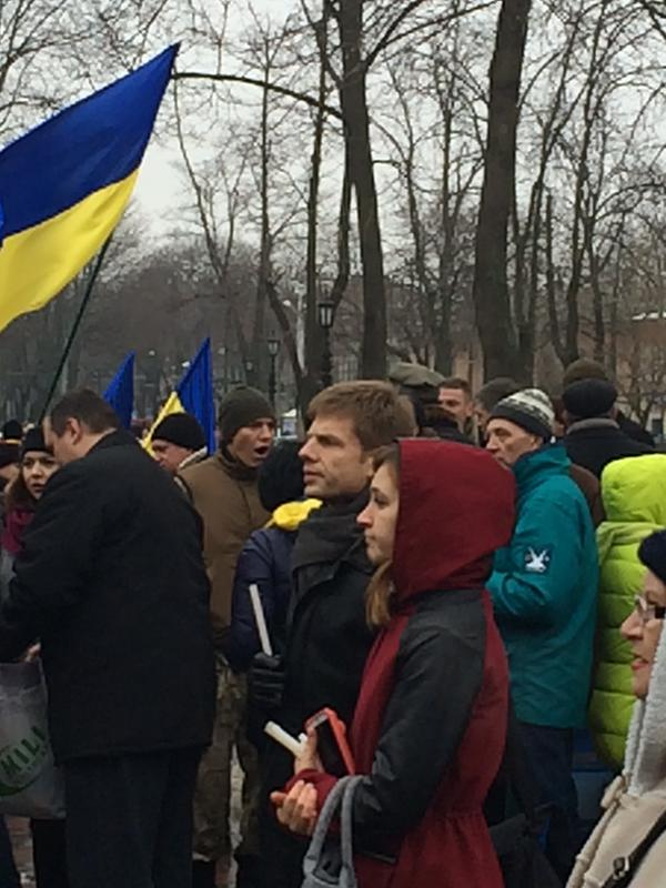 Rally in Odessa