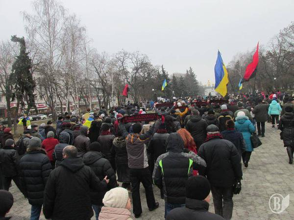 Rally in Chernihiv