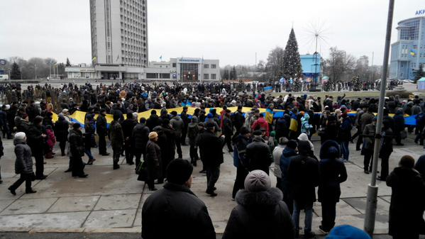 March of Peace in Sumy JeSuisVolnovaha