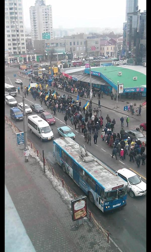 March of peace in Khmelnitsky