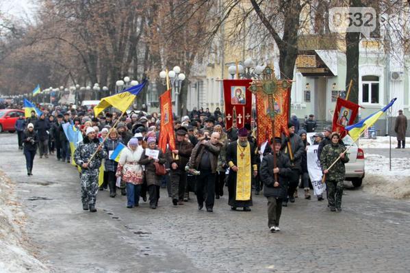 Poltava peace march