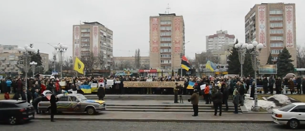 March of Peace in Cherkasy