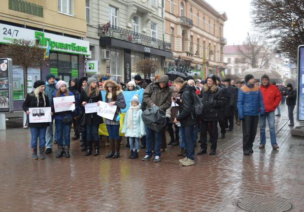 Peace March in Ivano-Frankivsk