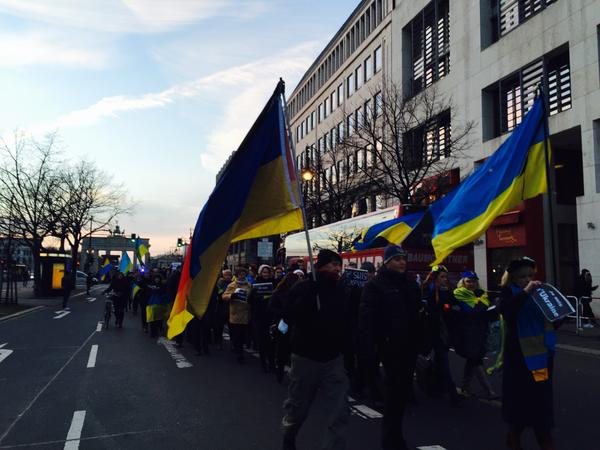 Germany,Berlin March of Peace&;Remembrance for Victims of Terrorism& Russia|n Aggression Ukraine