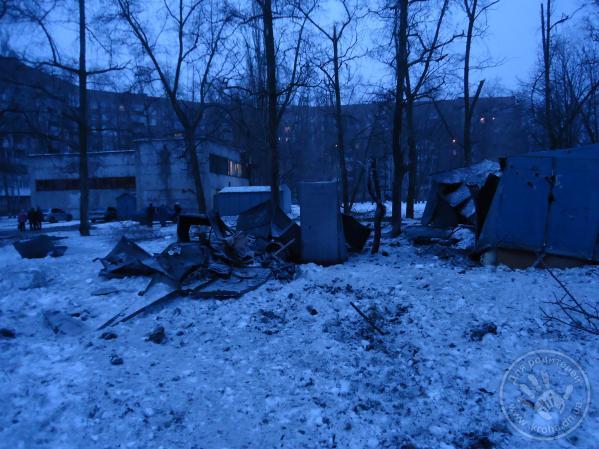 Shell hit Market on Petrovskogo avenue, 1 man killed. Donetsk