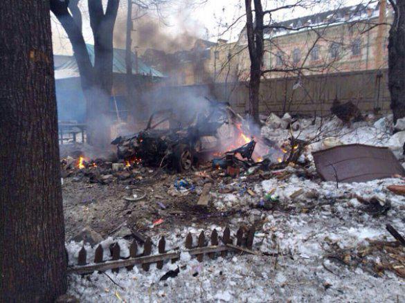 Debaltsevo. The attack killed three civilians.