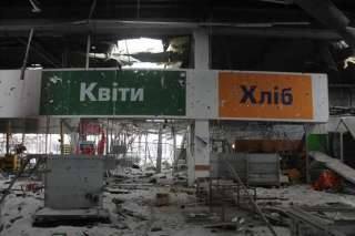 """The Promoter of the """"Russia Today"""" Graham Phillips throws shots from the supermarket for """"capture"""" of Donetsk airport"""
