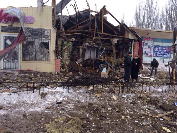 The consequences of militants attacks in Debal'tsevo