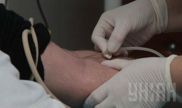 Residents of Odessa massively donate blood for the wounded cyborgs