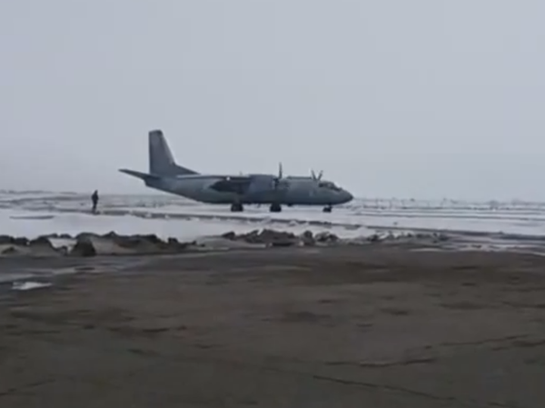 Ukrainian An-26 with many injured Cyborgs arrives in Odesa