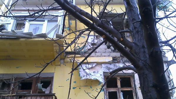 Shastye, no heat, no power after shelling