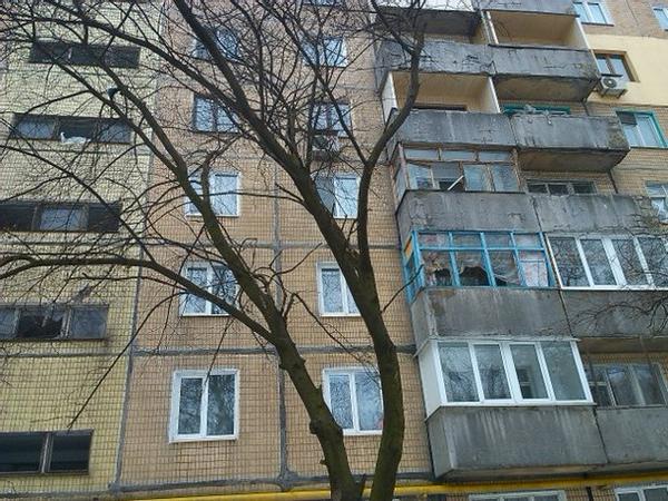 Donetsk after shelling