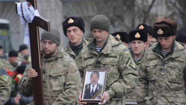 Officer, who has closed a three subordinates, was buried in Kirovograd