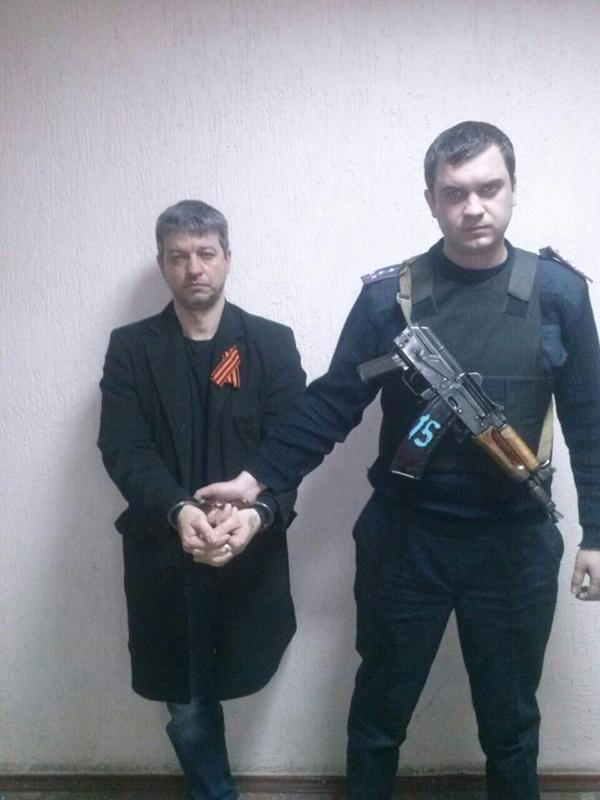 Kharkiv arrested leaders of the separatist organization Exodus hide behind the church.
