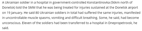.@OSCE_SMM reports ~80 cyborgs suffered muscle spasms, vomiting, dif breathing