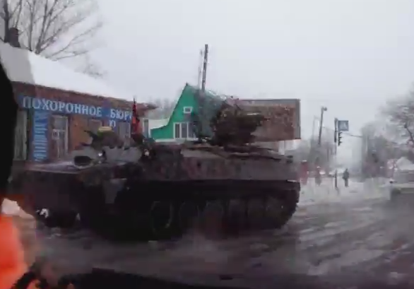 Russian forces in Rovenky