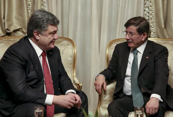 President @Poroshenko has met with Prime Minister of Turkey @Ahmet_Davutoglu