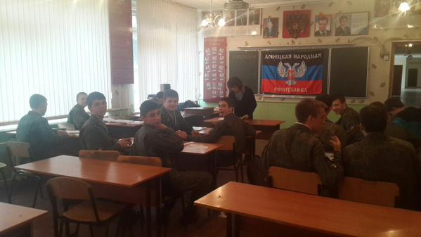 Preparation of fresh local Separatists in Lipetsk/Russia