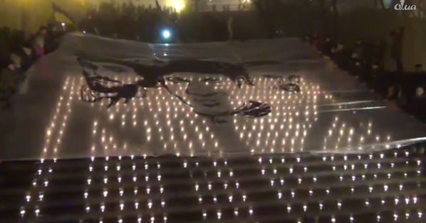 Vigil in Odessa for first victims of Yanukovych regime