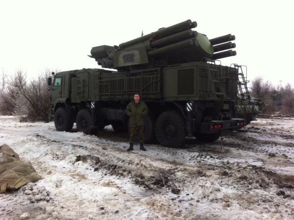 SA-22 Greyhound on the border with Ukraine