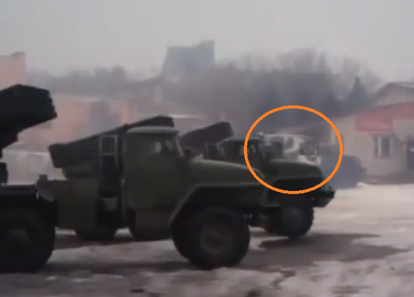 Brand new Russian Army 2B26 Grad-K system takes part in shelling Donetsk