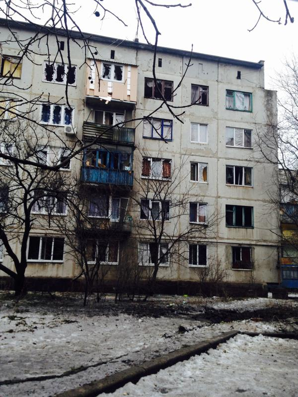 Consequences of attacks in Krasnogorivka