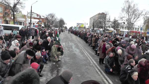 Last way of S. Nikonenko in Myrhorod