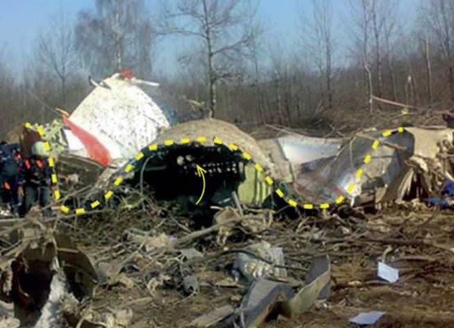 New evidences of explosion of jet of President of Poland