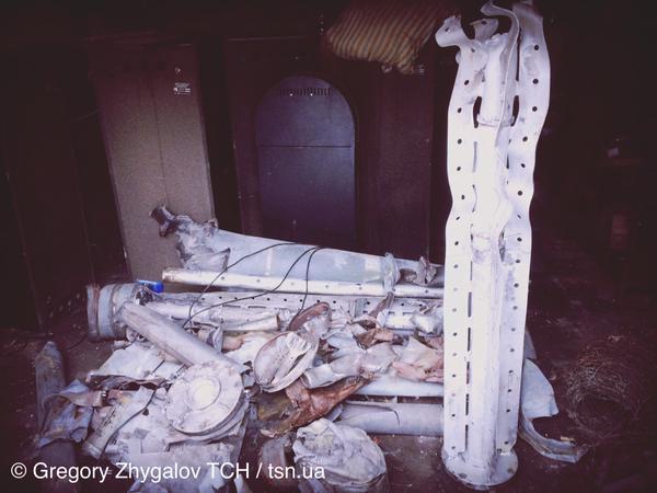 Russian Uragans that were shelled on Ukrainian city