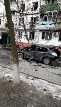 Militants shelled Mariupol
