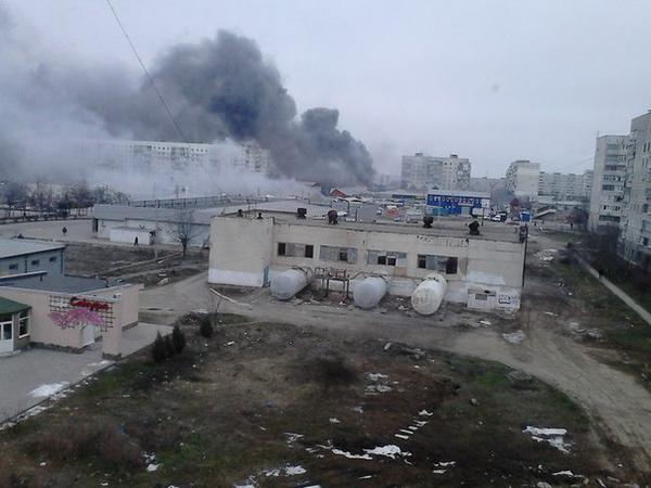 Consequences of shelling in Mariupol