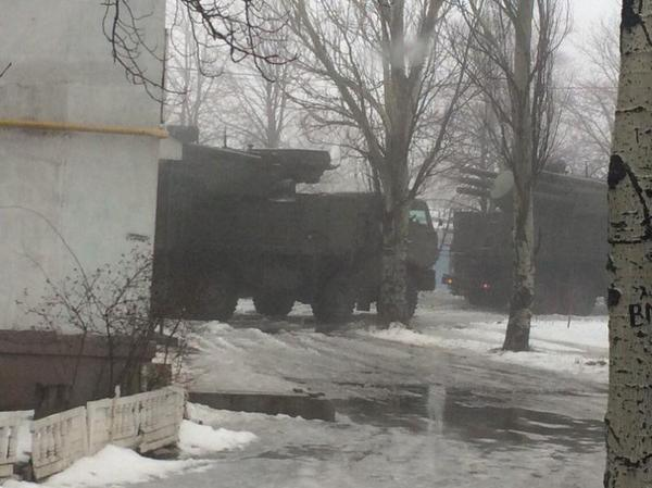 Anti-aircraft artillery SA-22 Greyhound in Shakhtarsk