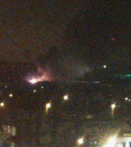 Explosion tonight in Kharkiv