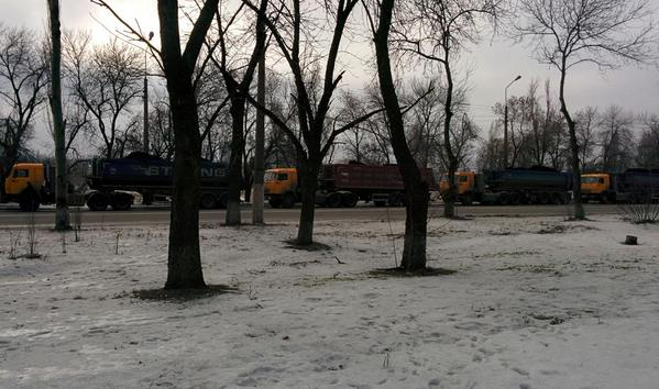 Another coal column starts from occupied Makiivka to Ukraine
