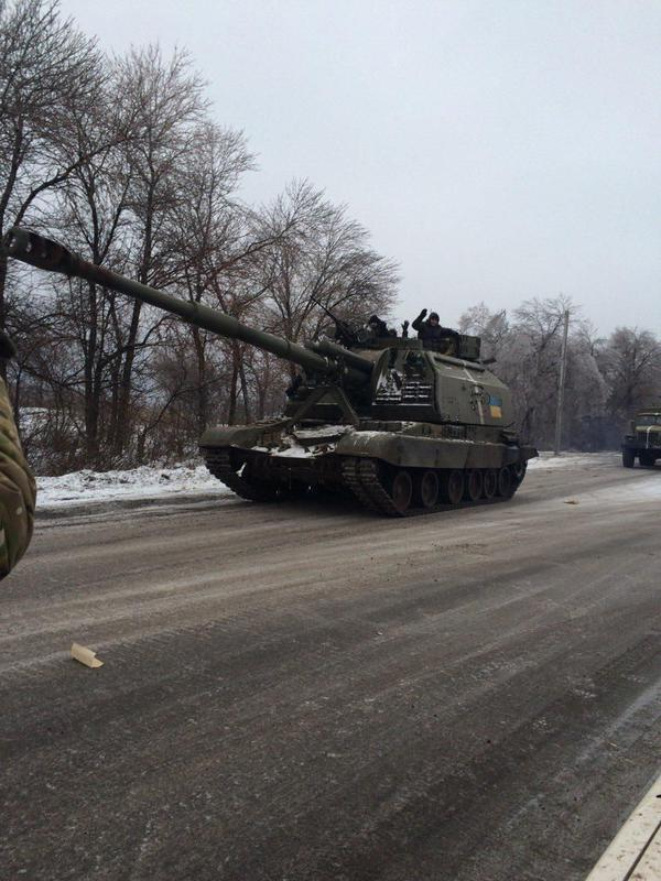 Debaltsevo received large reinforcements