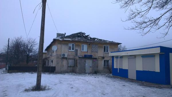 Donetsk, Petrovka, the consequences of shelling