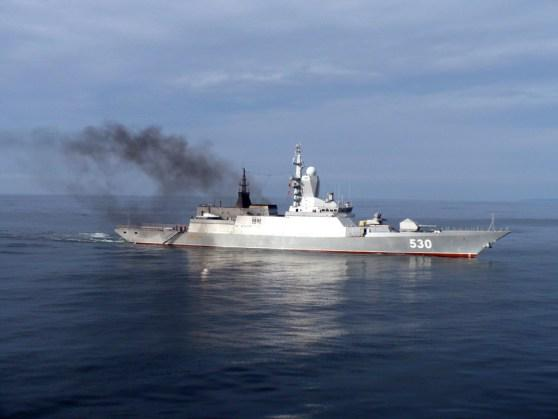 More than 50 Russian Baltic Fleet ships started drills at base