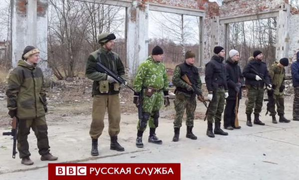 BBC reveals the secret training camp of militants from the Donbass in St. Petersburg.
