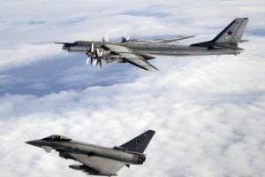 Daily Mail: Russian bombers in the skies over Bournemouth